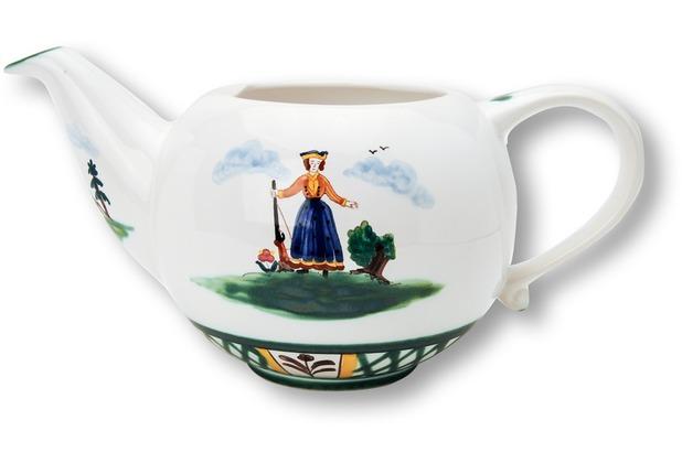 Gmundner Jagd, Unterteil Teekanne glatt (1,5L)