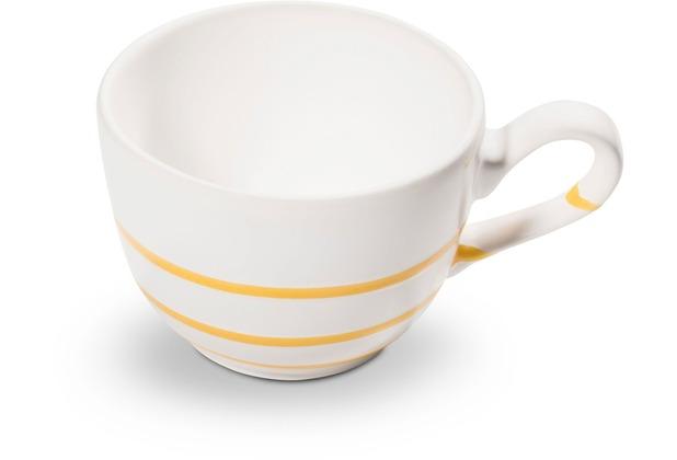 Gmundner Pur Geflammt Gelb, Kaffeetasse glatt (0,19L)