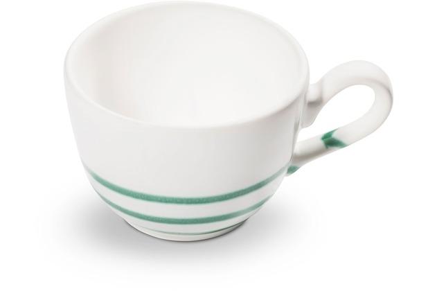 Gmundner Pur Geflammt Grün, Kaffeetasse glatt (0,19L)