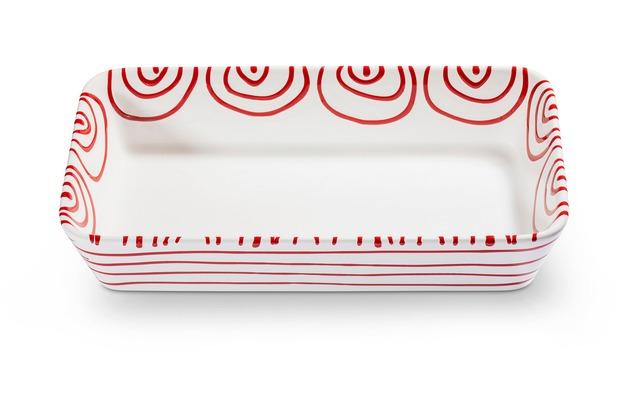 Gmundner Rotgeflammt, Auflaufform 29 cm