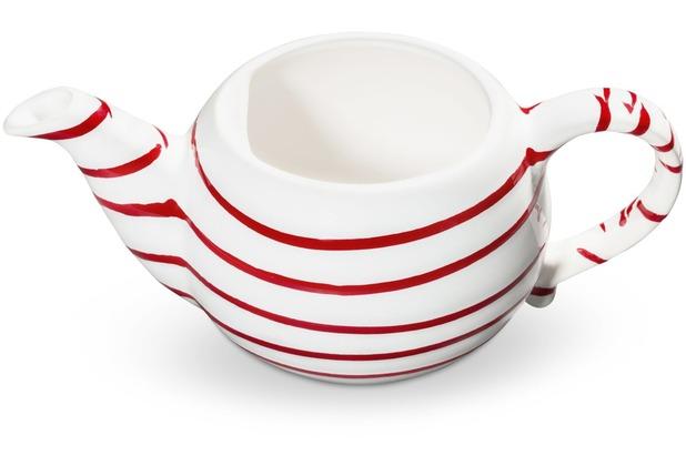Gmundner Rotgeflammt, Unterteil Teekanne glatt 0,5L