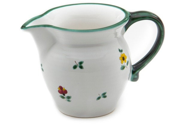 Gmundner Streublumen, Milchgießer glatt (0,5L)