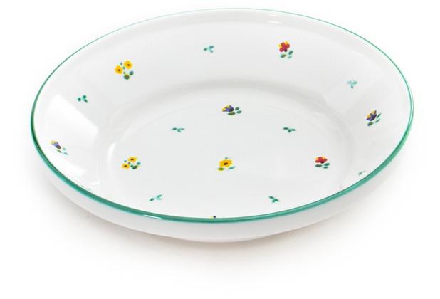 Gmundner Streublumen, Reifschüssel ohne Henkel (Ø 28cm)