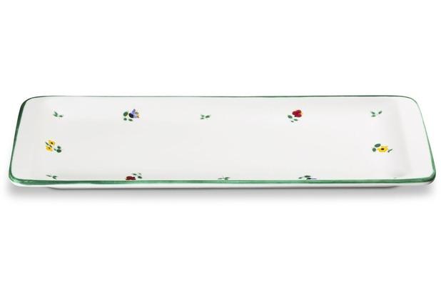 Gmundner Streublumen, Stollenplatte 42 x 16 cm