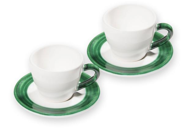 Gmundner Variation Grün, Espresso für 2 Gourmet
