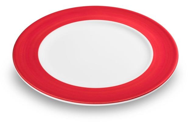 Gmundner Variation Rubinrot, Speiseteller Gourmet (Ø 27cm)