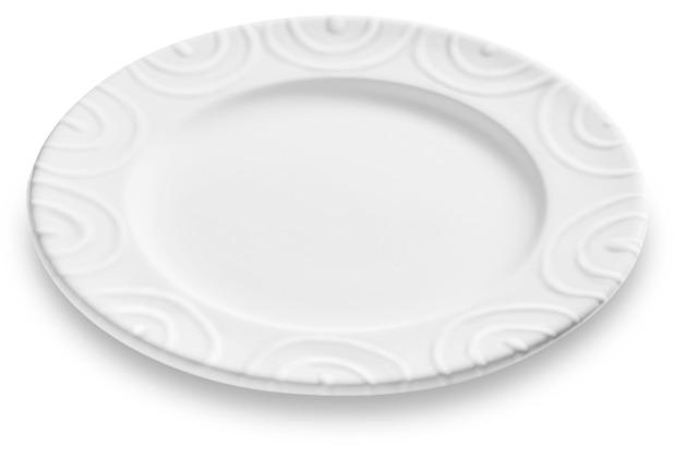 Gmundner Weißgeflammt, Dessertteller Gourmet (Ø18cm)