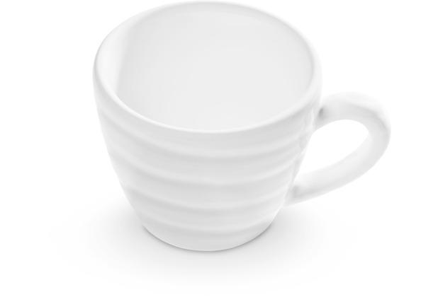 Gmundner Weißgeflammt, Espressotasse Gourmet (0,06L)