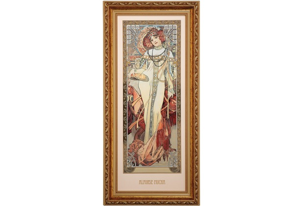 Goebel Artis Orbis Alphonse Mucha Herbst 1900 - Wandbild