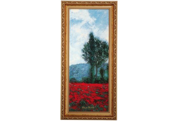 Goebel Artis Orbis Claude Monet Mohnfeld III - Wandbild