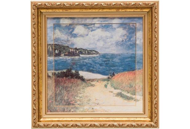 Goebel Artis Orbis Claude Monet Strandweg Weizenfelder - Wandbild