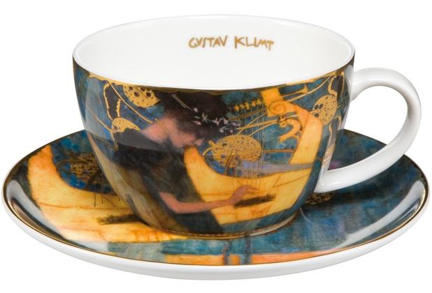 Goebel Artis Orbis Gustav Klimt Die Musik - Teetasse