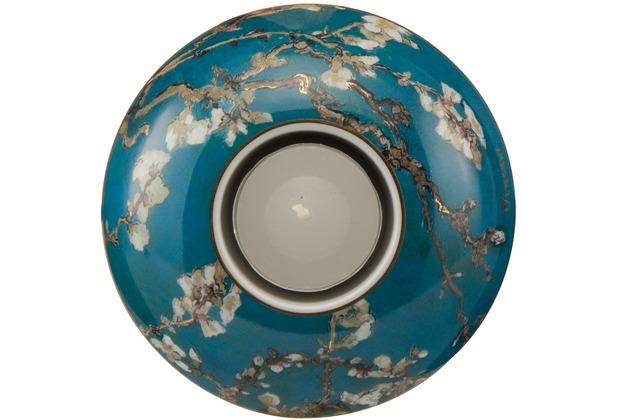 """Goebel Künstlerteelicht Vincent van Gogh - \""""Mandelbaum blau\"""" 3,0 cm"""