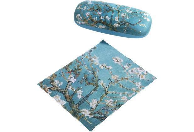 Goebel Brillenetui Vincent van Gogh - Mandelbaum blau 16 cm