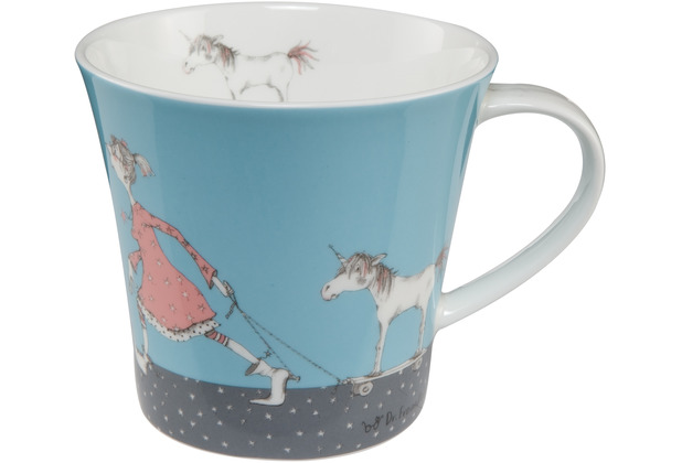 Goebel Coffee-/Tea Mug Barbara Freundlieb - Die sind doch alle verrückt 9,5 cm