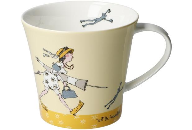 "Goebel Coffee-/Tea Mug Barbara Freundlieb - \""I need Vitamin Sea\"" 9,5 cm"
