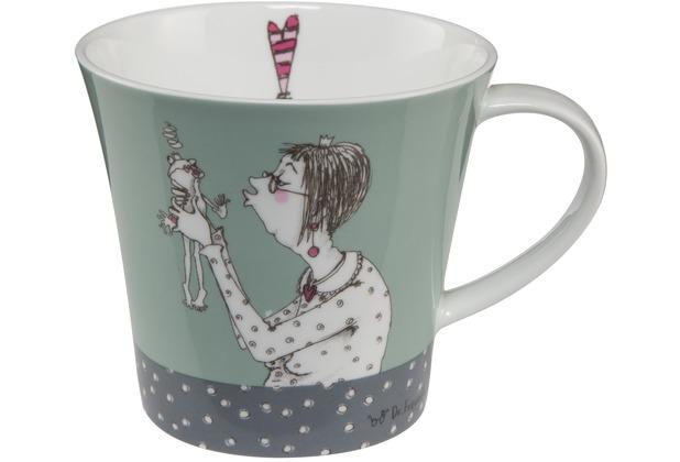 "Goebel Coffee-/Tea Mug Barbara Freundlieb - \""Prinz oder nicht\"" 9,5 cm"