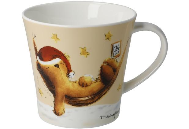 "Goebel Coffee-/Tea Mug Peter Schnellhardt - \""Dreaming\"" 9,5 cm"