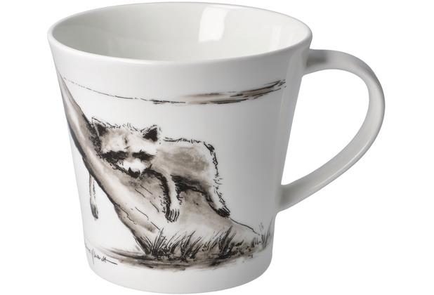 """Goebel Coffee-/Tea Mug Peter Schnellhardt - \""""Kleines Nickerchen\"""" 9,5 cm"""