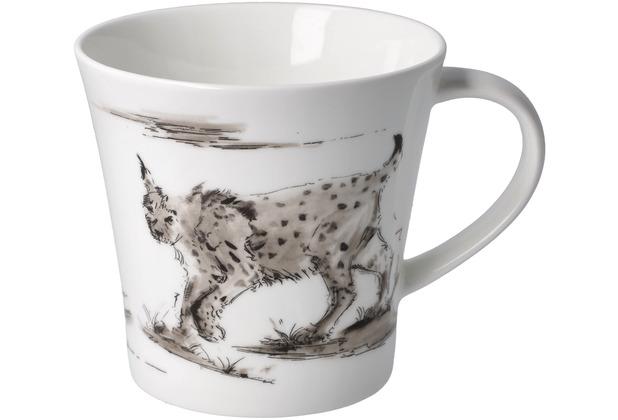 "Goebel Coffee-/Tea Mug Peter Schnellhardt - \""Kurzer Sonntagsausflug\"" 9,5 cm"