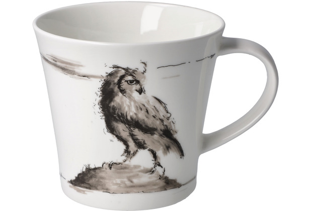 "Goebel Coffee-/Tea Mug Peter Schnellhardt - \""Schöner Ausblick\"" 9,5 cm"