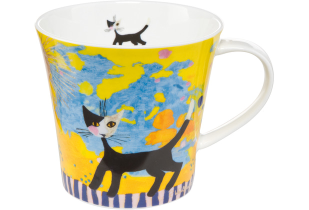 "Goebel Coffee-/Tea Mug Rosina Wachtmeister - \""Sole spendente\"" 9,5 cm"