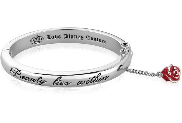 "Couture Kingdom Arrmreif Disney Die Schöne u.d. Biest \""Beauty Lies Within\"" 6,50 cm"