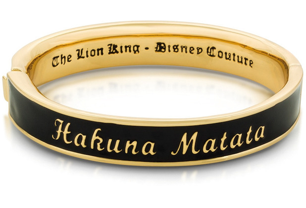 "Couture Kingdom Arrmreif Disney König der Löwen \""Hakuna Matata\"" 6 cm"