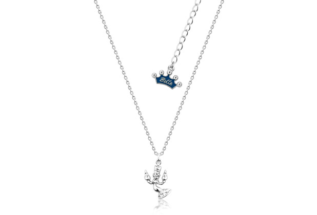 """Couture Kingdom Couture Kingdom Halskette Disney Die Schöne und das Biest \""""Lumiére\"""" 34,0 cm"""