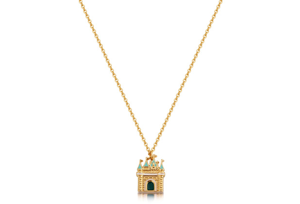 "Couture Kingdom Halskette Disney \""Schloss\"" 45,0 cm"