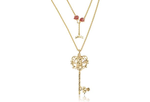 "Couture Kingdom Halskette Disney \""Schlüssel\"" 80,0 cm"