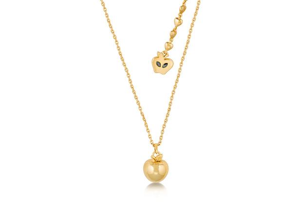 """Couture Kingdom Halskette Disney Schneewitchen \""""Apfel\"""" 45,0 cm"""