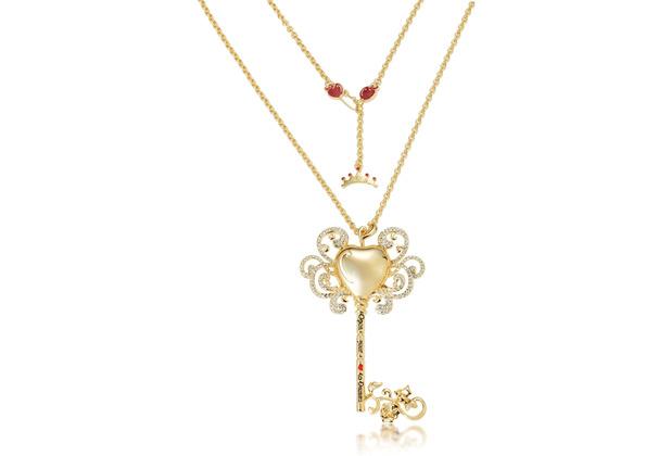 """Couture Kingdom Halskette Disney Schneewittchen \""""Magic Key\"""" 80,0 cm"""