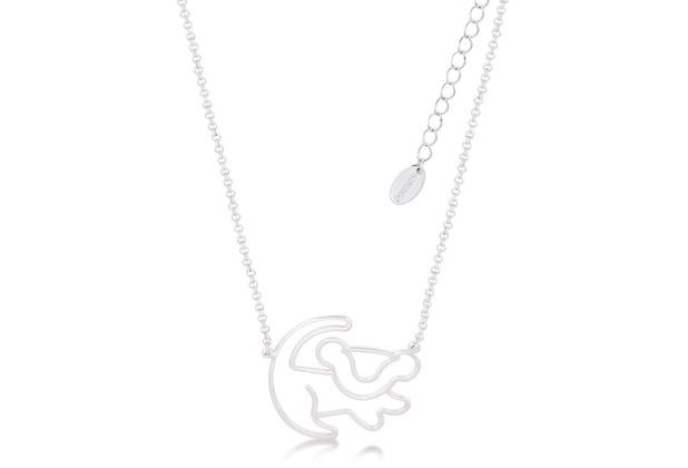 Goebel Couture Kingdom König der Löwen Junior Halskette Simba Weißgold