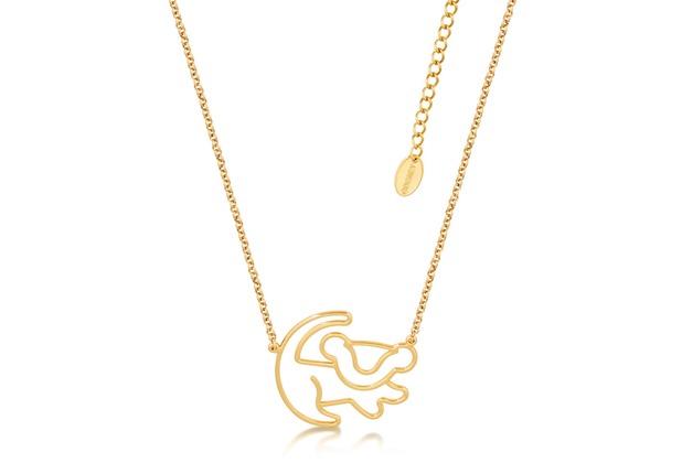 Goebel Couture Kingdom König der Löwen König der Löwen Halskette Simba Gold