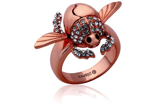 "Couture Kingdom Ring Disney Aladdin \""Goldener Scarabäus\"" D  1,65 cm"