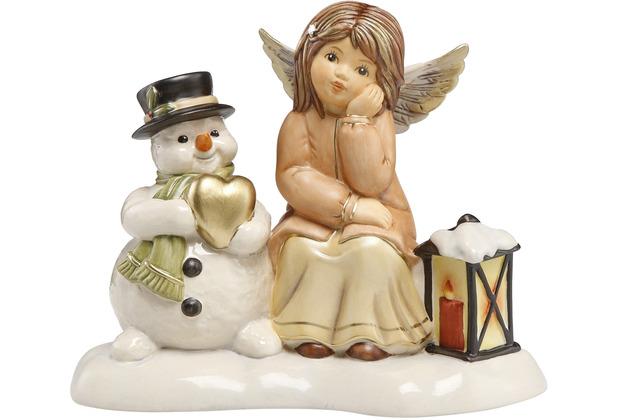 Goebel Engel Geduldige Freunde 13,0 cm
