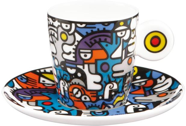 "Goebel Espressotasse Billy the Artist - \""Casual Conversation\"" 7,0 cm"