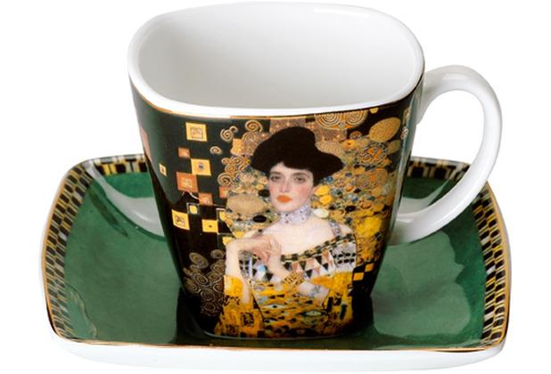 """Goebel Espressotasse Gustav Klimt - \""""Adele Bloch-Bauer\"""" 6,5 cm"""