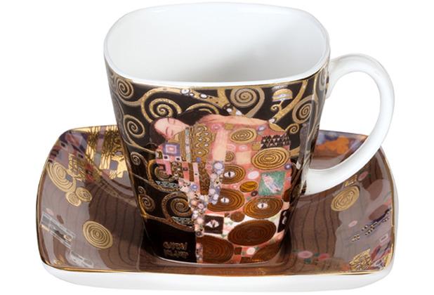 """Goebel Espressotasse Gustav Klimt - \""""Die Erfüllung\"""" 6,5 cm"""
