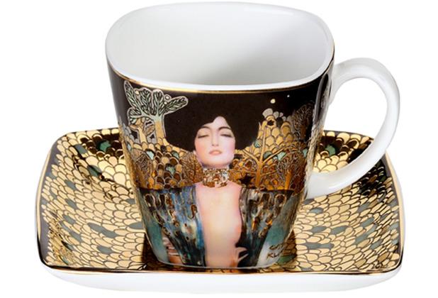 "Goebel Espressotasse Gustav Klimt - \""Judith I\"" 6,5 cm"