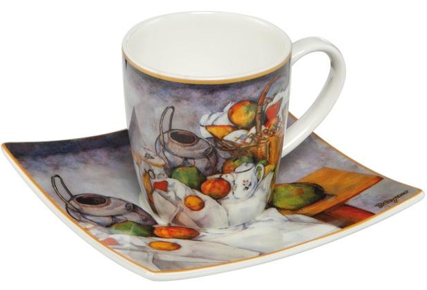 "Goebel Espressotasse Paul Cézanne - \""Stillleben II\"" 6,5 cm"