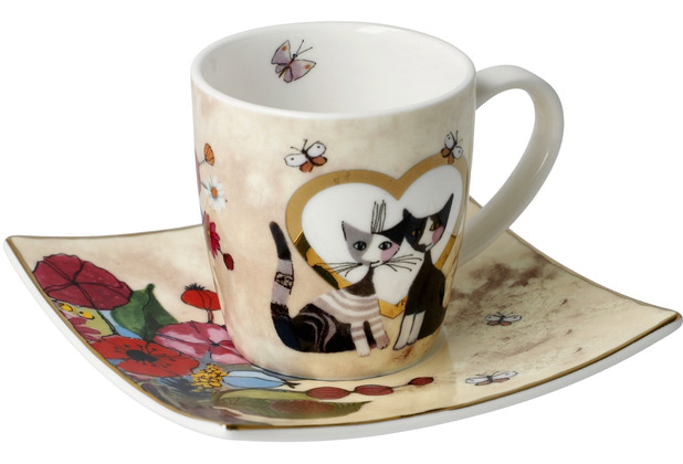 "Goebel Espressotasse Rosina Wachtmeister - \""Innamorato\"" 6,5 cm"