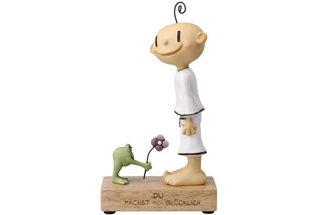 """Goebel Figur Der kleine Yogi - \""""Du machst mich glücklich\"""" 18,5 cm"""