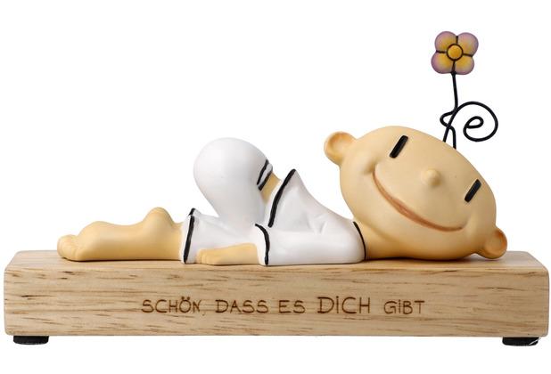 """Goebel Figur Der kleine Yogi - \""""Schön dass es dich gibt\"""" 8,5 cm"""
