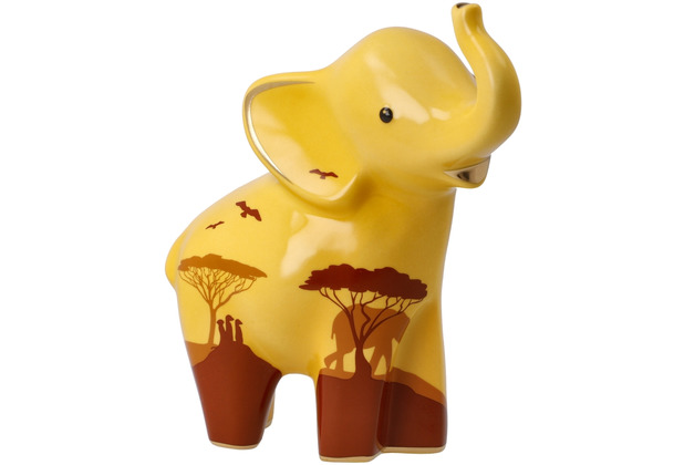 "Goebel Figur Elephant de luxe - \""Mukkoka\"" 15,5 cm"