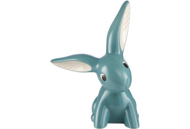 """Goebel Figur Hase - \""""Turquoise Bunny\"""" 17,0 cm"""