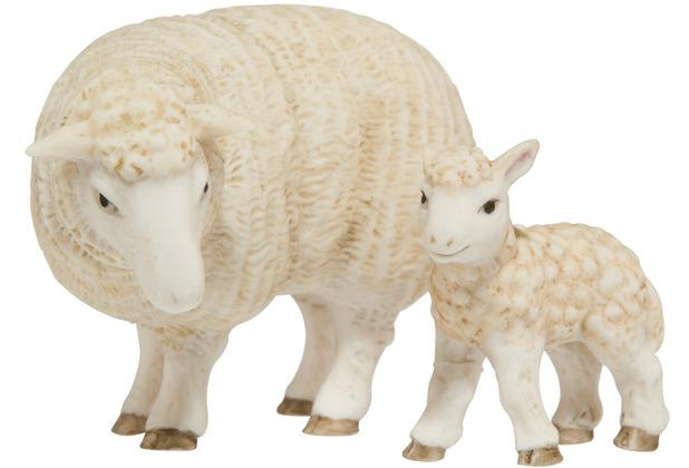Goebel Figur Mutterschaf mit Lamm 6,0 cm