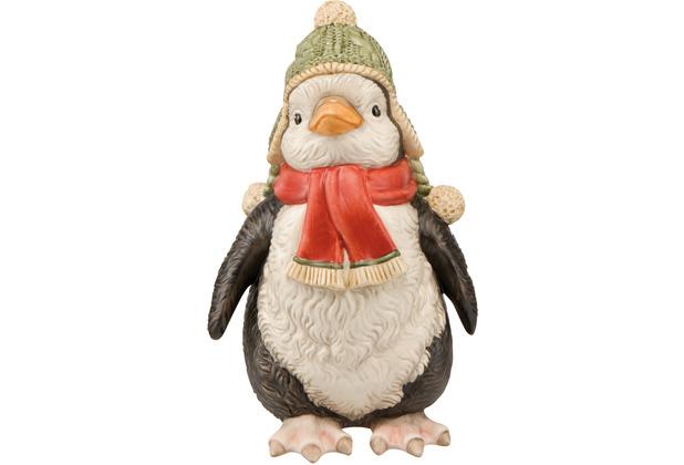 "Goebel Figur Pinguin \""Fridolin\"" 15,5 cm"