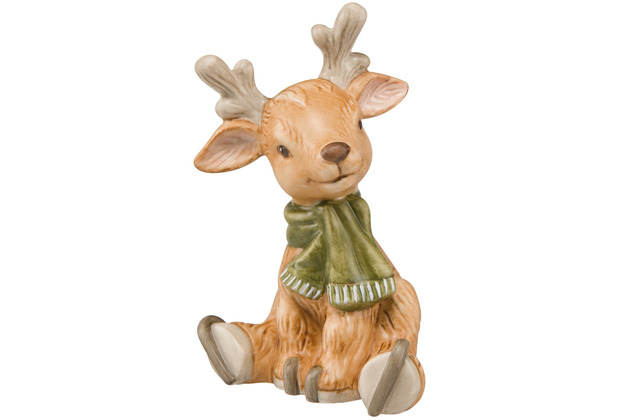 Goebel Figur Rentier Jacky 9,0 cm
